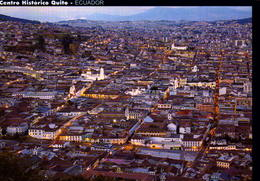 ECUADOR, QUITO, CENTRO HISTORICO DE QUITO, VISTA AEREA  [45987] - Ecuador