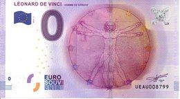 Billet Touristique 0€ Léonard De Vinci 2016-2 (37) - EURO