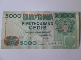 Ghana 5000 Cedis 1999 Banknote In Very Good Conditions - Ghana