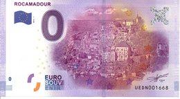 Billet Touristique 0€ Rocamadour 2016-1 (46) - EURO