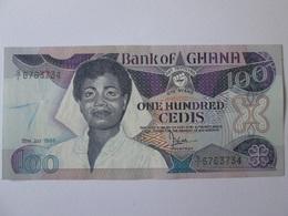 Ghana 100 Cedis 1999 Banknote In Very Good Conditions - Ghana