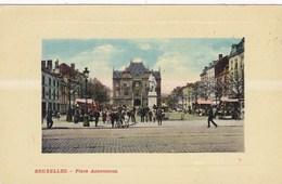 Bruxelles, Place Anneessens (pk46819) - Marktpleinen, Pleinen