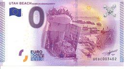 Billet Touristique 0€ Utah Beach - Musée Du Débarquement 2015-1 (50) - EURO