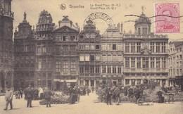 Bruxelles, La Grand Place (pk46822) - Marktpleinen, Pleinen