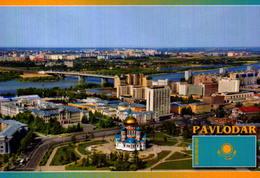 KAZAKISTAM, PAVLODAR, VISTA AEREA  [45968] - Kazakhstan