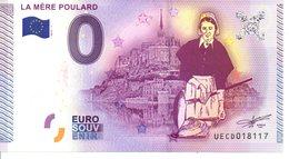 Billet Touristique 0€ La Mère Poulard 2015-1 (50) - EURO