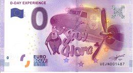 Billet Touristique 0€ D-DAY Expérience 2017-1 (50) - EURO