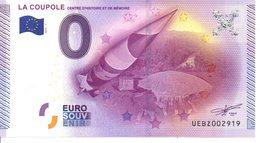 Billet Touristique 0€ La Coupole 2015-1 (62) - EURO