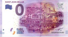 Billet Touristique 0€ Saint-Jean-De-Luz 2016-1 (64) - EURO