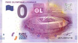 Billet Touristique 0€ Parc Olympique Lyonnais 2016-1 (69) - EURO