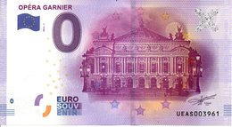Billet Touristique 0€ Opéra Garnier 2016-1 (75) - EURO