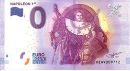 Billet Touristique 0€ Napoléon 1er 2016-1 (75) - EURO