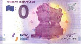 Billet Touristique 0€ Tombeau De Napoléon 2017-3 (75) - EURO