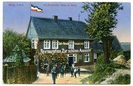 """ALLEMAGNE : BERG. LAND - ALT BERGISCHES HAUS IN BURG """"RESTAURATION ZUR SCHONEN AUSSICHT"""" - Solingen"""