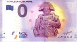 Billet Touristique 0€ Napoléon Bonaparte 2017-4 (75) - EURO