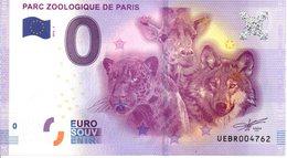 Billet Touristique 0€ Parc Zoologique De Paris 2016-2 (75) - EURO