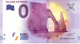 Billet Touristique 0€ Falise D'Etretat 2017-1 (76) - EURO