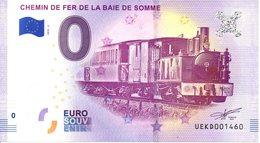 Billet Touristique 0€ Chemin De Fer De La Baie De Somme 2018-2 (80) - EURO