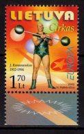 2002 Lithuania Europa CEPT - Circus - MNH** MI 792 (hj16) - Lithuania