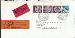 Switzerland Frutigen 1977 / Ideal Ferienort / Tourism, Bridge, Railway - Vacaciones & Turismo