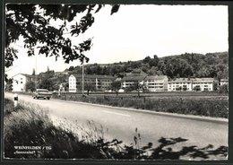 "CPA Weinfelden, Vue De La Rue Avec Siedlung ""Sonnental"" - BE Berne"