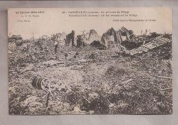 CPA - La Guerre 1914-1917 - Hardécourt (80) - 587. Ce Qui Reste Du Village - Guerra 1914-18