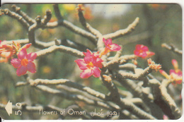 OMAN(GPT) - Flowers Of Oman/Desert Rose, CN : 29OMND/B(0 With Barred), 12/95, Used - Oman