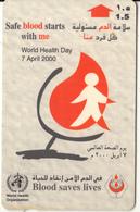 OMAN(GPT) - Blood Saves Lives, CN : 48OMNJ(normal 0), 04/00, Used - Oman