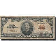 Billet, Dominican Republic, 10 Pesos Oro, Undated (1962), KM:82, TTB+ - Dominicaine