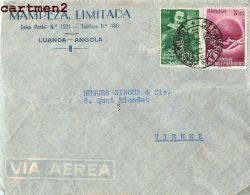 ANGOLA MAMPEZA LIMITADA LUANDA  MARCOPHILIE STAMP TIMBRE AFRIQUE - Angola