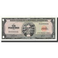 Billet, Dominican Republic, 1 Peso Oro, 1978, 1978, Specimen, KM:116s, NEUF - Dominicaine