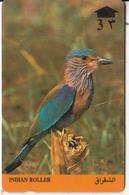 OMAN(GPT) - Bird, Indian Roller, CN : 8OMNA/B, Used - Oman