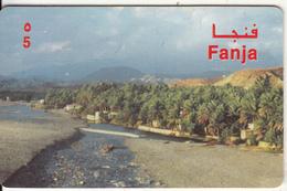 OMAN - Fanja, Alpha Prepaid Card RO 5, Used - Oman