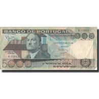 Billet, Portugal, 5000 Escudos, 1985, 1985-06-04, KM:182a, TB - Portugal