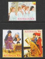 Australia - Scott #1005-07 MNH (5) - 1980-89 Elizabeth II