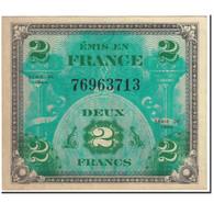 France, 2 Francs, 1944 Flag/France, 1944, Undated (1944), SPL+, Fayette:VF16.2 - 1944 Drapeau/France