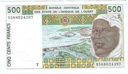 África Del Oeste - West African States 500 Francs 1995 Pick 810Te UNC - États D'Afrique De L'Ouest