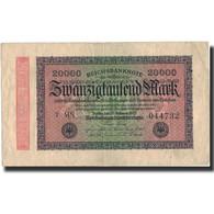 Billet, Allemagne, 20,000 Mark, 1923, 1923-02-20, KM:85a, TB+ - 20000 Mark