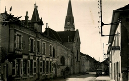 SERMERIEU - RUE PRINCIPALE - LA POSTE - CITROEN TUBE - France