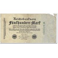 Billet, Allemagne, 500 Mark, 1922, 1922-07-07, KM:74b, B - [ 3] 1918-1933 : Repubblica  Di Weimar