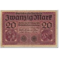 Billet, Allemagne, 20 Mark, 1918, 1918-02-20, KM:57, TB+ - [ 2] 1871-1918 : Empire Allemand