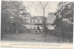 SAINT PEY DE CASTETS Par PUJOLS - 33 - Chateau Montlau Vue Prise Du Parc - INTROUVABLE Sur Le Site - SAL** - - France