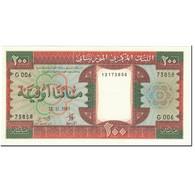Billet, Mauritanie, 200 Ouguiya, 1985, 1985-11-28, KM:5b, NEUF - Mauritania