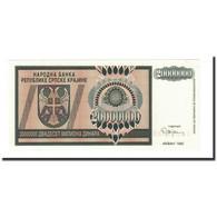 Billet, Croatie, 20 Million Dinara, 1993, KM:R13a, NEUF - Croatie