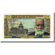 France, 5 Nouveaux Francs, 5 NF 1959-1965 ''Victor Hugo'', 1964-05-06, SUP - 5 NF 1959-1965 ''Victor Hugo''