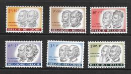 BELGIQUE 1961 AU PROFIT DES OEUVRES CULTURELLES  YVERT N°1176/81  NEUF MNH** - Ongebruikt