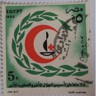 1988 United Nations Day  [USED] EGYPT  (Egypte) (Egitto)(Ägypten)(Egipto) - Égypte
