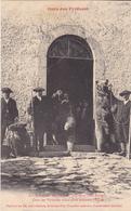 OUST   EN ARIEGE  INVENTAIRE DE COMINAC OURS DES PYRENEES VENUS POUR DEFENDRE L'EGLISE   CPA N° 1 - France