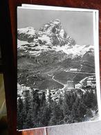 17110) CERVINIA IL CERVINO VIAGGIATA 1965 TIMBRO CENTENARIO CONQUISTA E TRAFORO - Italia