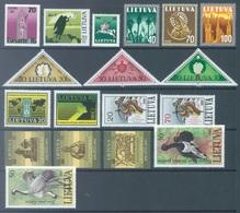 LIETUVA - 1991 - MNH/** - YEAR NEARLY COMPLETE - Yv 403-421 Mi 470-490 - Lot 17060 - Lituanie